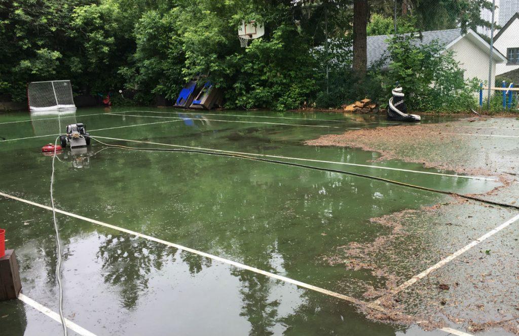Tennis-court-power-washing-calgary