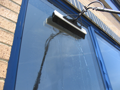 The Best Window Washing (With Water-Fed Poles!) | Pure Wash Calgary |